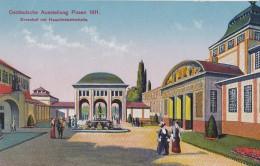 Ostdeutsche Ausstellung Posen 1911 Ehrenhof Mit Hauptindustriehalle - Pologne