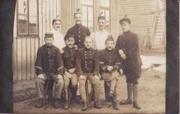 Photo Carte Faite à Bohmte Le 29 Juiller 1917 Avec Au Verso Le Nom Des 8 Personnes S'y Trouvant - Oorlog 1914-18