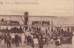 Boma Le Petit Bateau Qui Fait La Liaison Entre Léopoldville Et Brazzaville  Circulée En 1930 - Belgisch-Congo - Varia