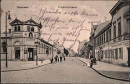 ! Alte Ansichtskarte Aus Nowawes, Potsdam Babelsberg, Friedrichstraße, Geschäfte, 1914 - Potsdam