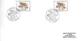 SAINT PIERRE Et MIQUELON - 1987 - 4 Lettres 1er Jour Yv 475 476 477 Et 479 - Lettres & Documents