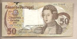 Portogallo - Banconota Circolata Da 50 Scudi P-174a.5 - 1968 - Portugal