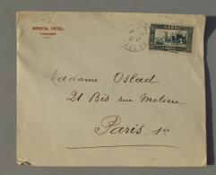 Maroc 002,  Enveloppe Entête - Bristol Hotel - Tangier Tanger - 1938 - Facturas & Documentos Mercantiles