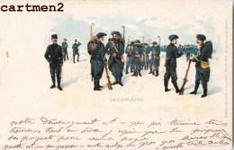 REGIMENT B.C.A. BATAILLON DE CHASSEURS ALPINS GUERRE ILLUSTRATEUR LITHO 1900RAPHAEL TUCK - Regimenten