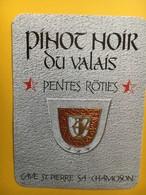 8511 - Pinot Noir Pentes Rôties  Suisse - Autres