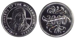 00215 GETTONE JETON TOKEN ADVERTISING MAKERS OF THE MILLENIUM MOTHER TERESA - United Kingdom