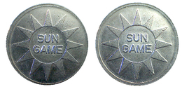 03789 GETTONE JETON TOKEN DENMARK AMUSEMENT GAMING MACHINE SUN GAME - Unclassified