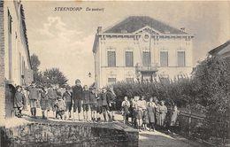 Steendorp Temse Pastorij  Met Veel Volk Ca.1910 - Temse