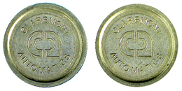 00232 GETTONE JETON TOKEN MACHINE CLAREMONT AUTOMATICS - United Kingdom