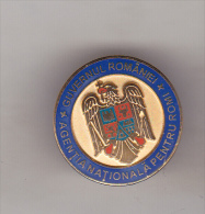 Romanian Badge - Romanian Goverment - Coat Of Arms - Administrations