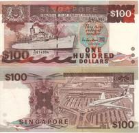 SINGAPORE  $100  ( SHIP Serie )    P23c      UNC - Singapour