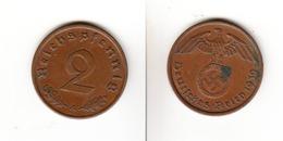 Allemagne  2 Reichspfennig  1939 A  Deutsches Reich - [ 4] 1933-1945 : Third Reich