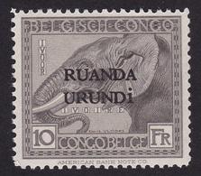 Ruanda Urundi - COB 61 Avec Trace De Charnière - 1924-44: Mint/hinged