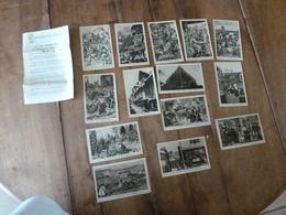 Lot De 14 Cartes Postales -->pour Connaitre Notre Histoire :LA VIE FRANCAISE A L'EPOQUE FEODALE , Par Alfred Carlier - Historia