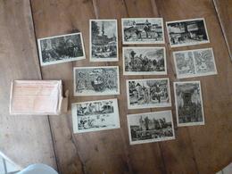 Lot De 11 Cartes Postales -->pour Connaitre Notre Histoire :LA VIE FRANCAISE A L'EPOQUE FEODALE , Par Alfred Carlier - Historia
