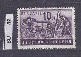 BULGARIA  1940Agricoltura  10 L Nuovo Violetto - 1909-45 Regno
