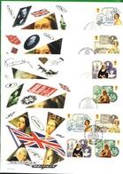 Lotto REGNO UNITO FDC.REGINA VITTORIA 1987. - Andere