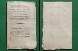 D-FR Révolution 1792 Fourcade Et Gonchon, Citoyens Sans-Culottes De Paris - Documents Historiques