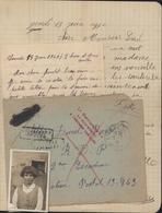 Guerre 40 Destinataire N'a Pu être Atteint à L'adresse Indiquée Retour Envoyeur FM CAD L'Abresle Rhône 15 6 40 - Postmark Collection (Covers)