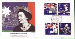 Lotto REGNO UNITO FDC.BICENTENARIO AUSTRALIA 1988. - Andere