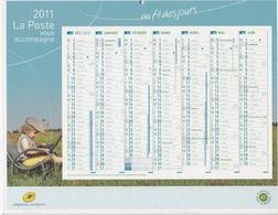 CALENDRIER INTERNE LA POSTE 2011 - Calendari