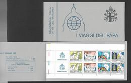 VATICAN  STAMP  BOOKLET  WITH  16 STAMPS  DIFFERENT VALUES. - Vatican