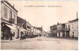 CPA GERS.L'ISLE-en-JOURDAIN.BOULEVARD CARNOT - Francia