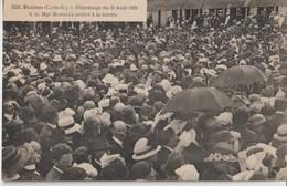 ETABLES Sur MER ( C. Du N. ) - Pélérinage Du 21 Août 1921 - S. G. Mgr MORELLE Arrive à La Grotte. - Etables-sur-Mer