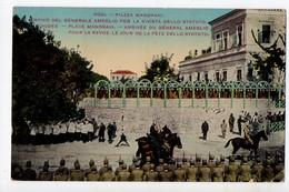 GRECE - RHODES - RODI - Arrivée Du Général Ameglio - Place Mandraki - Grèce