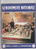 Très Rare Revue Gendarmerie Nationale N°50 4 ème Trimestre 1961 - Police & Gendarmerie
