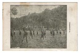 Baden Powell Belgian Boy-Scouts - 2e Troupe De Bruxelles - La Gymnastique. - 2 Scans - Scoutisme