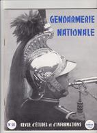 Très Rare Revue Gendarmerie Nationale N°59 1 ème Trimestre 1964 - Police & Gendarmerie
