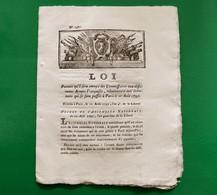 D-FR Révolution 1792 DANTON Evènemens Qui Se Sont Passés à Paris Le 10 Aout 1792 - Documents Historiques