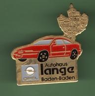 OPEL *** BADEN-BADEN N°1 *** A015 - Opel
