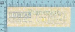 EMA Vignette D'Affranchissement -  DOMTAR Products Of Canadian Entreprise 1966 6¢ - Canada Postage Paper - Vignettes D'affranchissement (ATM) - Stic'n'Tic