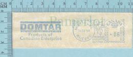 EMA Vignette D'Affranchissement -  DOMTAR Products Of Canadian Entreprise 1964 6¢ - Canada Postage Paper - Stamped Labels (ATM) - Stic'n'Tic