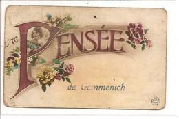 GEMMENICH  Une  Pensee - Blieberg