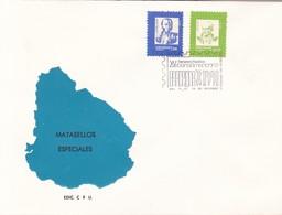 CERTAMEN FILATELICO XV IBEROAMERICANO. URUGUAY. OBLIT 1991- BLEUP - Uruguay
