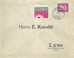 Brief  Seftigen (Bern) - Lyss  (PAX Frankatur)           1945 - Zwitserland