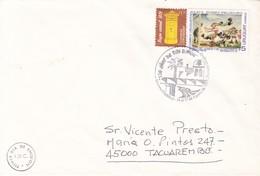 FDC. 130 AÑOS DE SAN RAMON. URUGUAY. OBLIT 1997. CIRCULEE TACUAREMBO- BLEUP - Uruguay