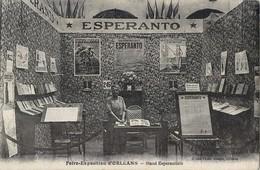 ORLEANS FOIRE-EXPOSITION STAND ESPERANTISTE MARCHAND ESPERANTO 45 - Orleans