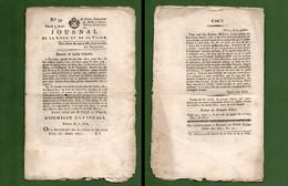 D-FR Révolution 1791 MARIE-ANTOINETTE JACOBINS Journal De La Cour Et De La Ville N.33 - Documents Historiques