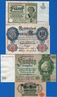 All  7  Billets - [ 3] 1918-1933 : Weimar Republic