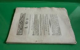 D-FR Révolution 1791 Constitution Française Donnée à Paris Le 14 Septembre 1791 - Documents Historiques
