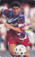 Télécarte Japon / 110-167058 - FOOTBALL BRESIL - JORGINHO - SOCCER BRASIL Brazil Sport Japan Phonecard - FUSSBALL  1103 - Sport