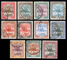 SUDAN 1902/21 - Set Used - Sudan (...-1951)