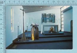 Guelph Ontario Canada - Loyola House Chapel , Center Of Spirituality - Postcard, Post Card, Carte Postale - Ontario