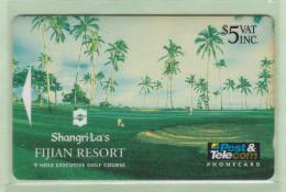 Fiji - 1993 Shangri-La Resort - $5 Golf Course - FIJ-017 - VFU - Fiji