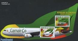 Cameroon 2011 Camair-Co S/s, (Mint NH), Transport - Aircraft & Aviation - Aviones