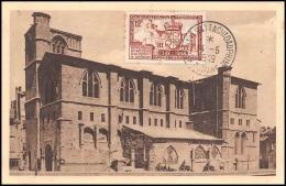 0563/ Carte Maximum (card) France N°839 Rattachement Du Dauphiné 14/5/1949 Fdc Premier Jour - ....-1949